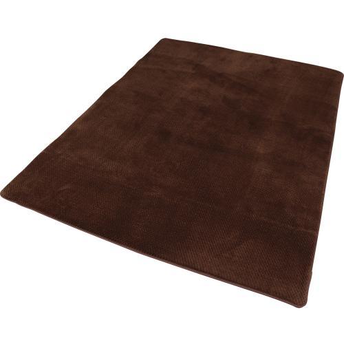 ラグ おしゃれ 厚手 ラ・クッションラグ ホットカーペット対応 絨毯 鹿の子 180×240cm MCRK-1824(531281) アイリスオーヤマ (送料無料)