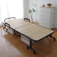 (送料無料)折りたたみすのこベッド OTB-WH ナチュラル (536754) アイリスオーヤマ