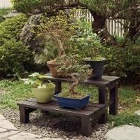 (送料無料) スノコ 2段 アルミ製 庭 幅約60cm(544192) アイリスオーヤマ