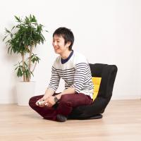 (送料無料) 座椅子 楽 回転 フロアチェア メッシュ素材 コンパクト(558747) アイリスオーヤマ