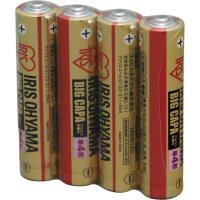 大容量アルカリ乾電池 単4形 4パック LR03IRB-4S  アイリスオーヤマ
