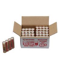 大容量アルカリ乾電池 単4形 40パック LR03IRB-40S  アイリスオーヤマ