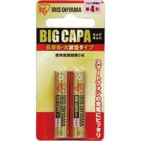 アルカリ乾電池 ブリスターパック 単4形 2P LR03IRB-2B  アイリスオーヤマ(561847)アイリスオーヤマ