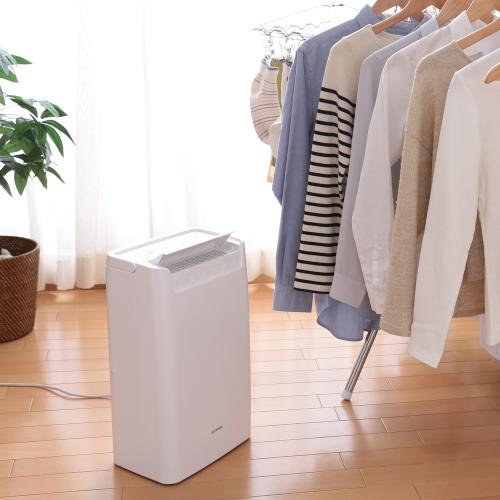 (送料無料)衣類乾燥除湿機 コンプレッサー式 DCE-6515 ホワイト (561929)アイリスオーヤマ