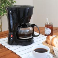 コーヒーメーカー CMK-65-B ブラック (561969)アイリスオーヤマ