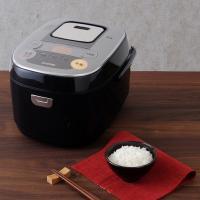 米屋の旨み 銘柄炊き IHジャー炊飯器5.5合 RC-IB50-B ブラック アイリスオーヤマ