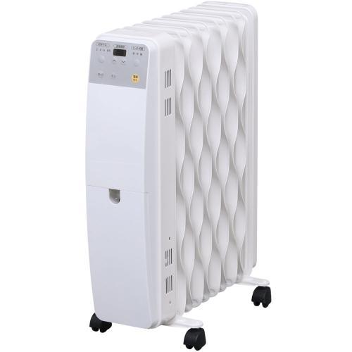 (送料無料)ウェーブ型オイルヒーター マイコン式 IWH-1210m-W ホワイト (562060)アイリスオーヤマ