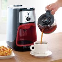 (送料無料)全自動コーヒーメーカー IAC-A600 ブラック (562084)アイリスオーヤマ