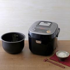 【タイムセール!】 米屋の旨み 銘柄炊き IHジャー炊飯器 10合 ブラック RC-IB10-B(562327) アイリスオーヤマ (送料無料)
