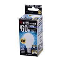 LED電球 E17 広配光60W 昼白色 LDA7N-G-E17-6T2  アイリスオーヤマ