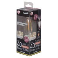 LEDフィラメントシャンデリア球 LED電球 E12 40形相当 電球色 LDC3L-G-E12-F(567588) アイリスオーヤマ