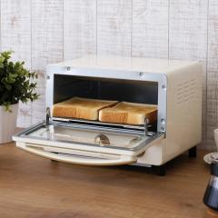 (送料無料) ricopa オーブントースター EOT-R1001-C アイボリー (568628) アイリスオーヤマ トースター リコパ おしゃれ 調理家電