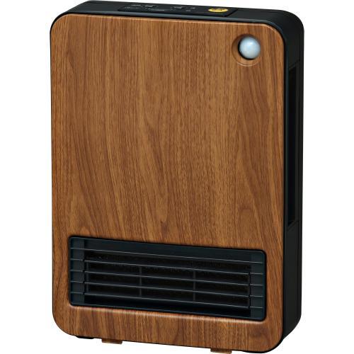 セラミックヒーター 暖房器具 アイリスオーヤマ 人感センサー付きセラミックファンヒーター セラミックヒーター 1200W 木目 ブラウン JCH-125TM-T  オシャレ(568637)  (送料無料)