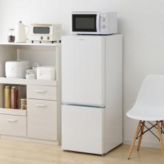 (送料無料) 冷蔵庫 2ドア ノンフロン冷凍冷蔵庫 156L ホワイト AF156-WE 白物家電 大容量(568921) アイリスオーヤマ