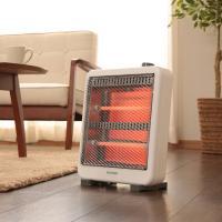 電気ストーブ 瞬間暖房 電気ストーブ 400W/800W EHT-800W (7034471) アイリスオーヤマ