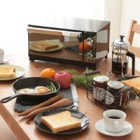 オーブントースター 4枚 おしゃれ コンパクト 温度調節 ミラー調オーブントースター POT-413-B (7058121) アイリスオーヤマ