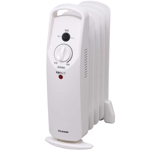 オイルヒーター ヒーター アイリスオーヤマ 白 省エネ 小型 暖房器具 ウェーブ型 オイルヒーター 安全 子供部屋  POH-505K-W 暖房 暖房器具 500W トイレ 室内(7067686) アイリスオーヤマ