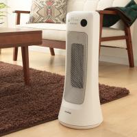 セラミックヒーター 小型 人感センサー付セラミックヒーター PCH-JS12 トイレ暖房 室内暖房 暖房器具 (7069435) アイリスオーヤマ