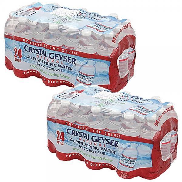 クリスタルガイザー ペットボトル 500ml ×48本 軟水 飲料水 水 (9480157)(クーポン利用で送料無料)    【8月14日~8月19日クーポン使用で5%OFF】