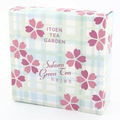 桜香る緑茶ティーバッグ:ギフトBOX
