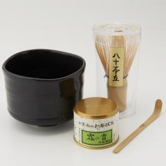 【送料無料/LOHACO先行販売】伊藤園 まいにち 抹茶 セット(黒)