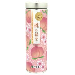 桃の緑茶ティーバッグ