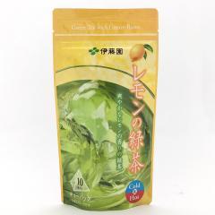 レモンの緑茶ティーバッグ