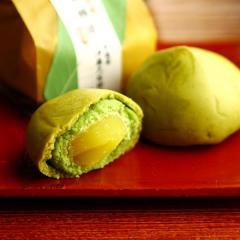 敬老の日 ギフト 栗抹茶饅頭6個入 § 秋限定 お菓子 和菓子 プレゼント