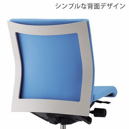 デスクチェア コペル 足置き付タイプ YCS-LB-F ライトブルー イトーキ