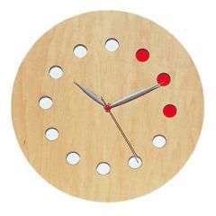 コサイン 掛け時計(カラー)/CW-01CM メープル