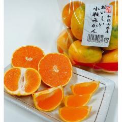 おいしい小粒みかん(約600g)1袋 和歌山県産