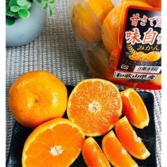 みかん【甘さで選んだ味自慢】1袋(約600g)和歌山県産