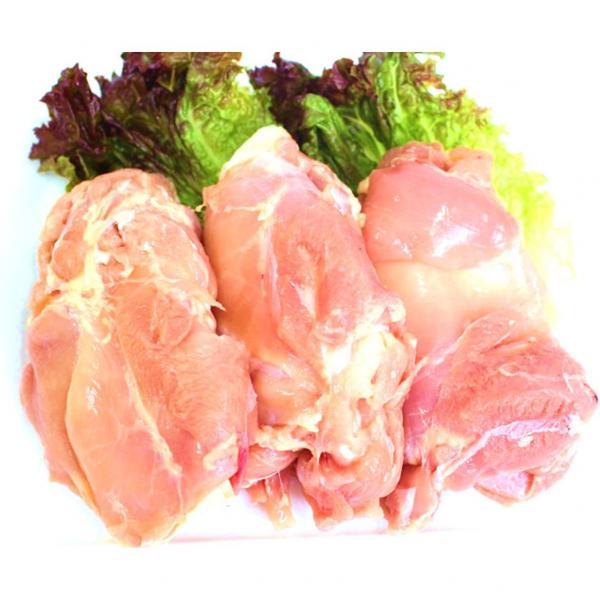【大型】国産若鶏もも肉 3枚(810g)