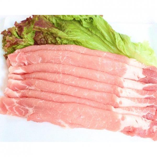 【大型】アメリカ産豚ロースうす切り 800g