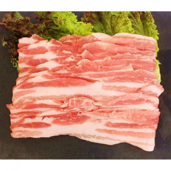 栃木県産四元豚こくみ豚バラうす切り(200g)『顔が見えるお肉。』