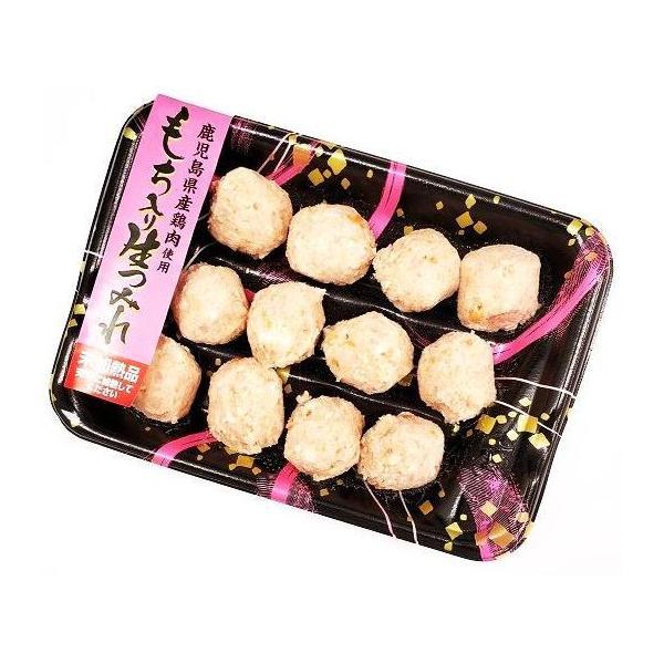 鹿児島県産鶏肉使用 もち入り生つみれ 12粒(未加熱)