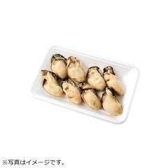 【冷凍でお届け】播磨灘産などの原料使用 調理用蒸しかき 8粒(-5℃保存)