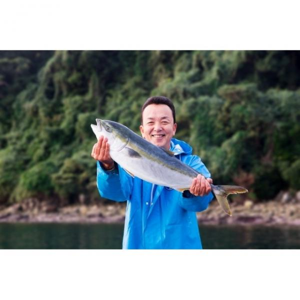 熊本県 『顔が見えるお魚。』 平山さんが育てたぶり(養殖)1切