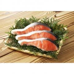 アメリカ産などの原料使用 塩紅鮭切身(甘口)