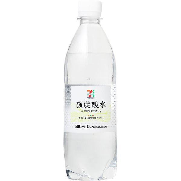 セブンプレミアム 強炭酸水 500ml