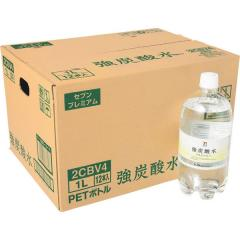 セブンプレミアム 強炭酸水 1L 1ケース12本入