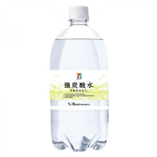 セブンプレミアム 強炭酸水 1L