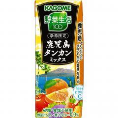カゴメ野菜生活100 鹿児島タンカンミックス195ml