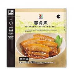 セブンプレミアム 豚角煮 4枚入り(130g)