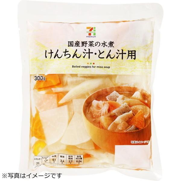 けんちん汁とん汁用水煮(300g)セブンプレミアム