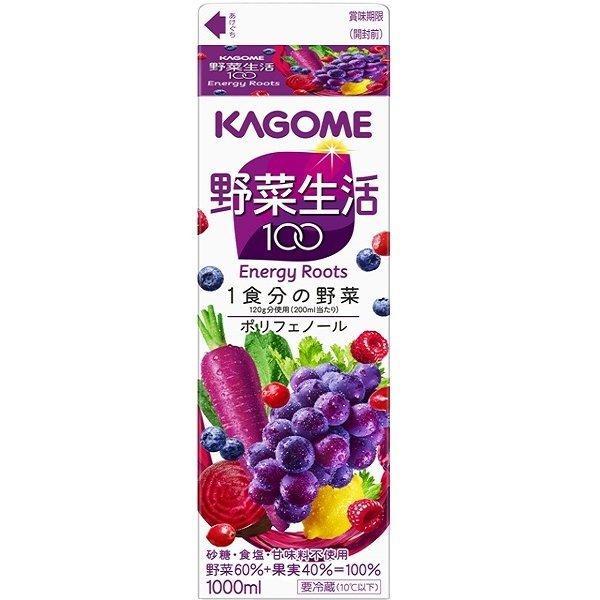 カゴメ 野菜生活エナジールーツHP 1本(1000ml)
