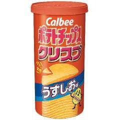 カルビー ポテトチップスクリスプS うすしお (50g)