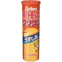 カルビー ポテトチップスクリスプL うすしお (115g)