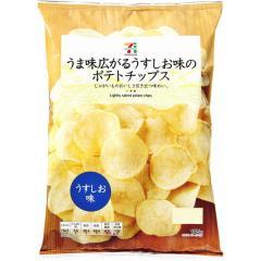 セブンプレミアム ポテトチップス うすしお味 (175g)