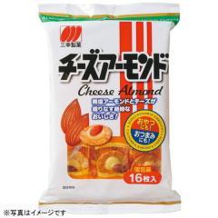 三幸製菓 チーズアーモンド (16枚入)